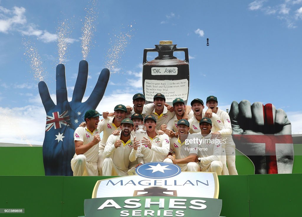 Australia v England - Fifth Test: Day 5 : News Photo