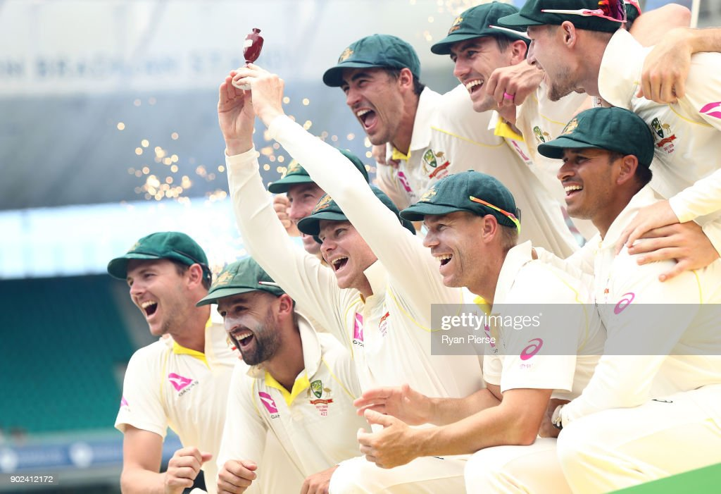 Australia v England - Fifth Test: Day 5 : News Photo