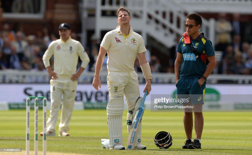 England v Australia - 2nd Specsavers Ashes Test: Day Four : News Photo