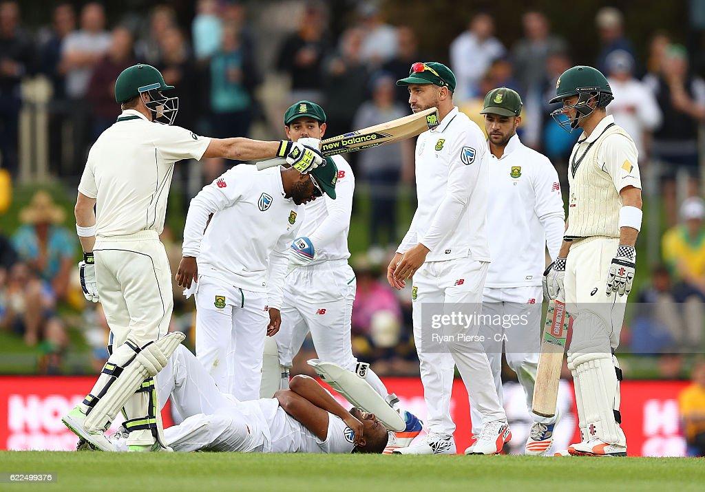 Australia v South Africa - 2nd Test: Day 1