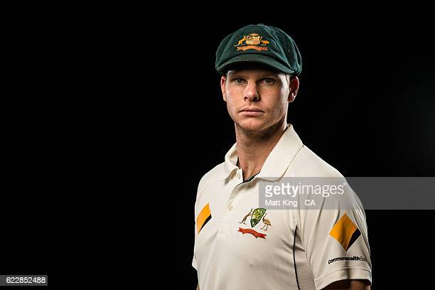 Steve Smith poses during the 2016 Cricket Australia Player Camp at Sydney Cricket Ground on September 14 2016 in Sydney Australia
