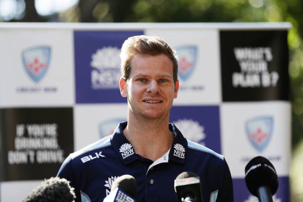 AUS: Steve Smith NSW Team Press Conference