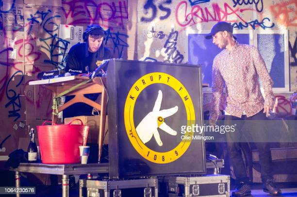 Steve Stamp as Steven Steves Green and Daniel Sylvester Woolford as Decoy of Kurupt FM from the hit BBC British Garage music Comedy The people just...