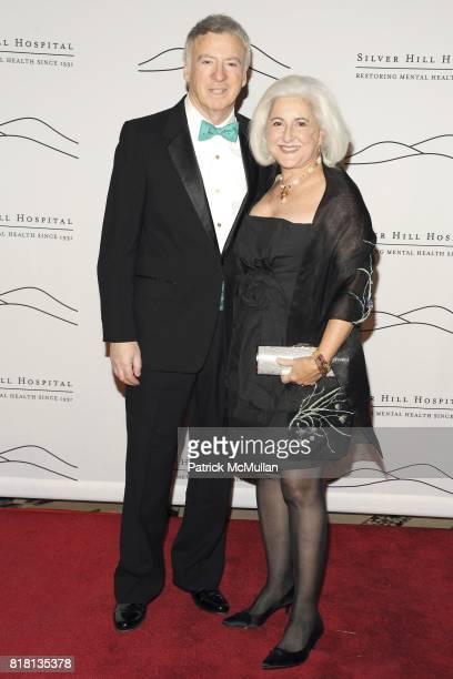 Steve Stillerman and Nancy Stillerman attend Silver Hill Hospital 80th Anniversary Gala at Cipriani 42nd Street on November 11 2010 in New York City