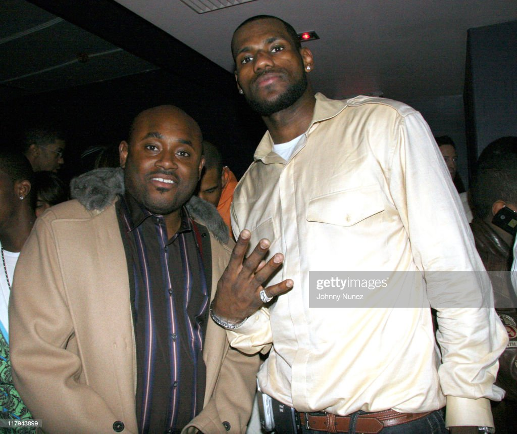 LeBron James Post-Game After Party - April 5, 2006