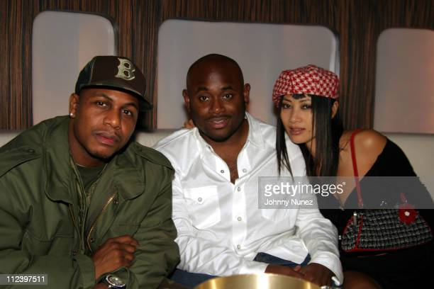 AZ Steve Stoute and Bai Ling during Nas Birthday Party at Club 17 in New York City New York United States