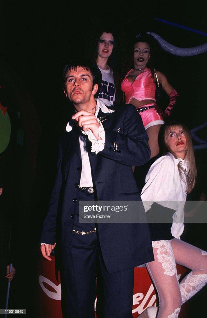 Steve Strange during Steve Strange at Limelight - 1994 at Limelight in New York City, New York, United States.