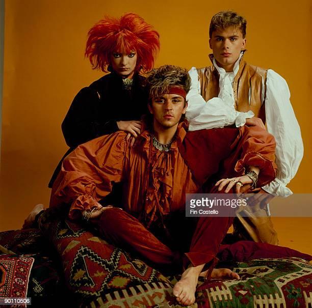 Steve Strange modelling with Perri Lister in 1981