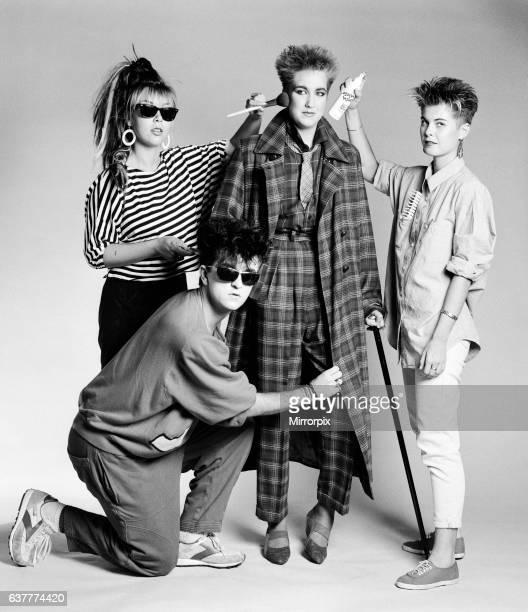 Steve Strange with model Liza 29th August 1984