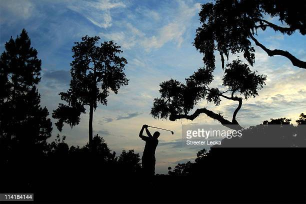 Steve Stricker hits his tee shot on the sixth hole during the third round of THE PLAYERS Championship held at THE PLAYERS Stadium course at TPC...