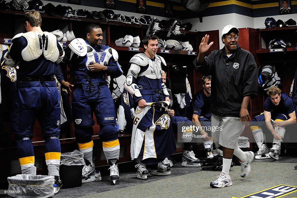 Buffalo Sabres v Nashville Predators