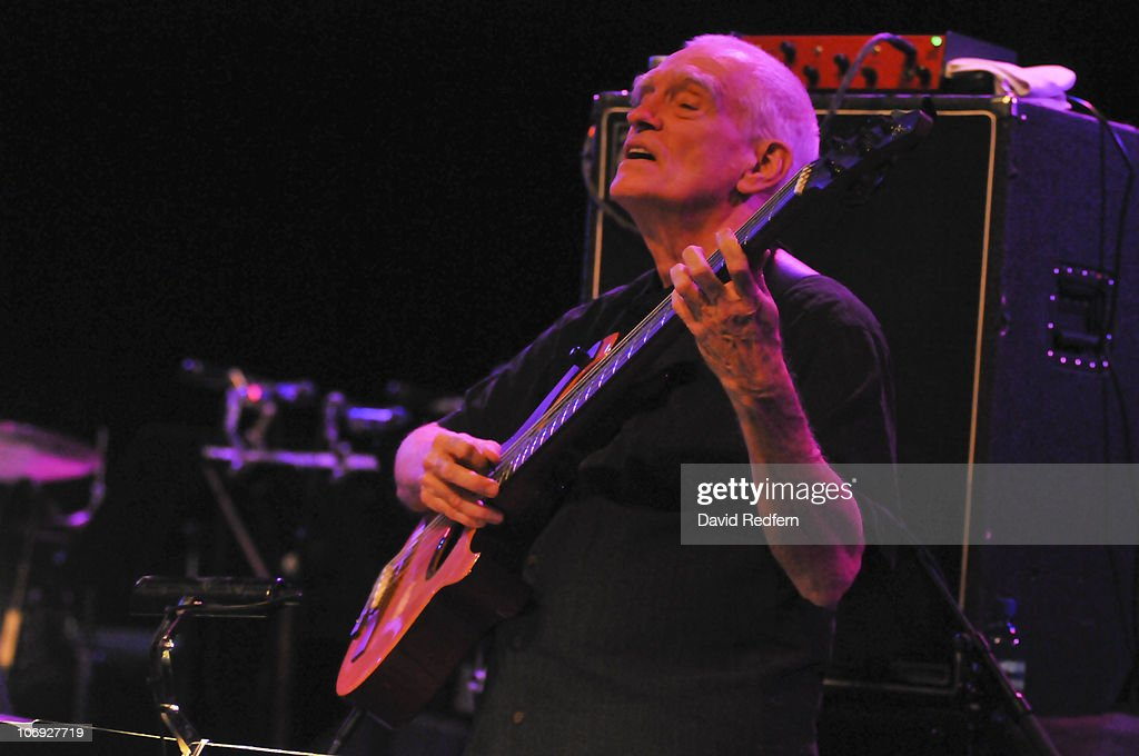 Steve Swallow performs on stage at the Queen Elizabeth Hall during the London Jazz Festival on November 15, 2010 in London, England.