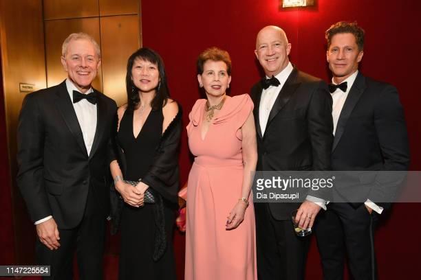 Steve Swartz Tina Swartz Arlene Arsht Brian Lourd and Bruce Bozzi attend Lincoln Center's 60th Anniversary Diamond Jubilee Gala on May 05 2019 in New...