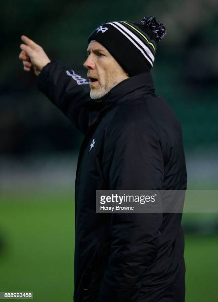 Steve Tandy of Ospreys during the European Rugby Champions Cup match between Northampton Saints and Ospreys at Franklin's Gardens on December 9 2017...