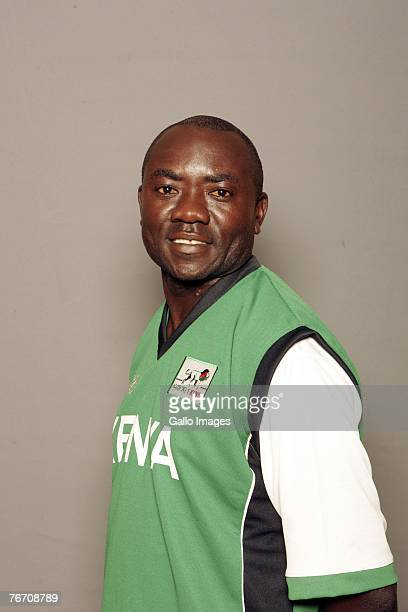 Steve Tikolo of Kenya poses during the ICC Twenty20 World Cup Headshots on September 7 2007 in Johannesburg South Africa