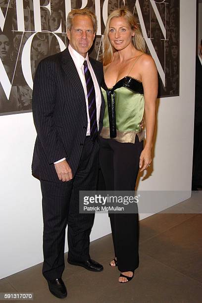 Steve Tisch and Jamie Tisch attend Calvin Klein hosts a party to celebrate Bryan Adams' new photo book American Women to benefit The Society of...