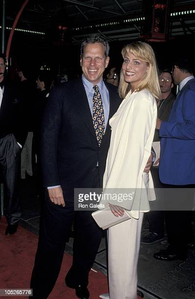 Steve Tisch and Jamie Tisch during APLA's 8th Annual Fundraiser Honoring Isaac Mizrahi at Mann's Chinese Theater in Hollywood California United States