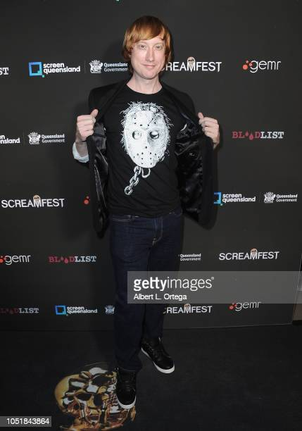 Steve Trzaska arrives for the Screamfest LA Opening Night Screening Of 'The Amityville Murders' at TCL Chinese 6 Theatres on October 9 2018 in...