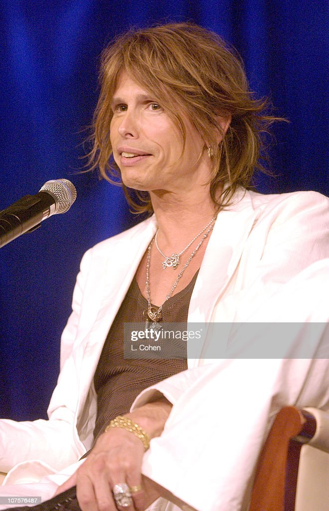 Steve Tyler from Aerosmith during Radio & Records Convention 2002 at Beverly Hilton Hotel in Beverly Hills, Ca.