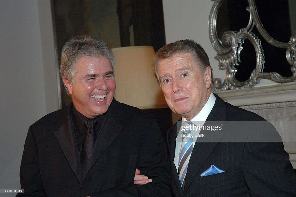 Regis Philbin Hosts a Party for Steve Tyrell in Celebration of His Return to