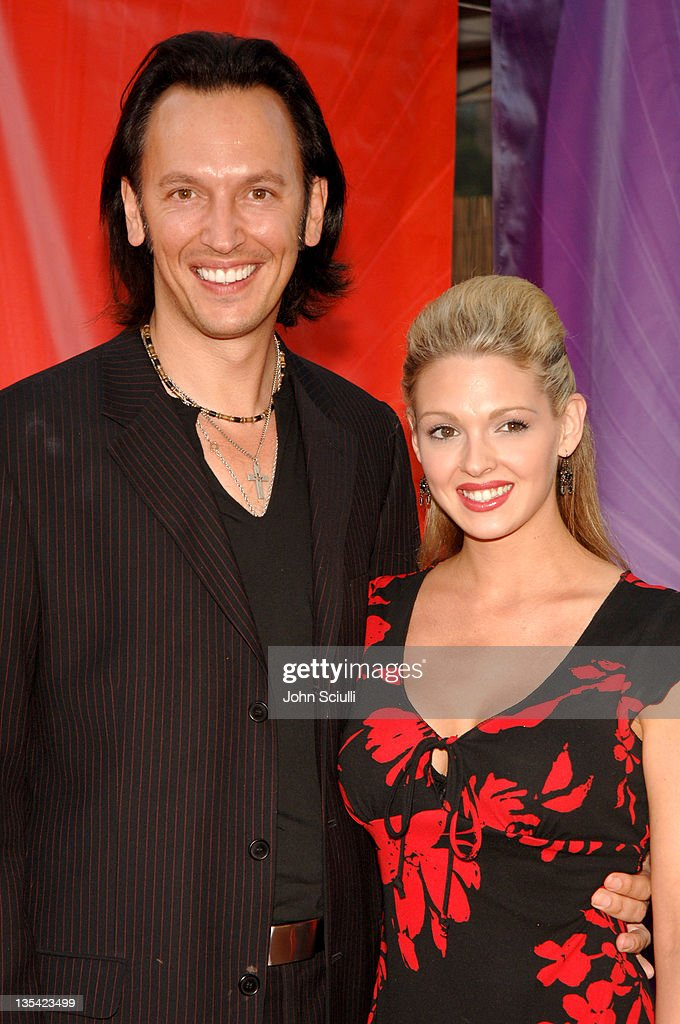 Steve Valentine And Guest During 2005 NBC Network All Star Celebration  Arrivals At Century Club In