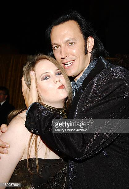 Steve Valentine and wife Shari during 54th Annual Primetime Emmy Awards HBO AfterParty at Spago at Spago Restaurant in Beverly Hills California...
