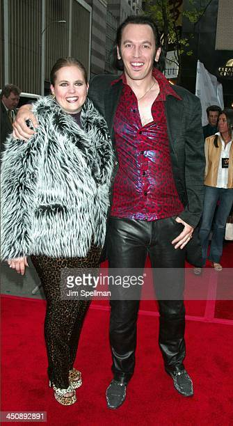 Steve Valentine and wife Shari during Unfaithful New York Premiere at Ziegfeld Theatre in New York City New York United States