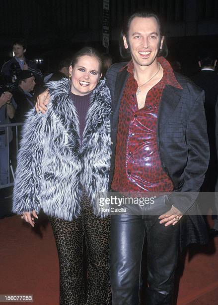 Steve Valentine and wife Shari Valentine during 'Unfaithful' New York Premiere at Ziegfeld Theatre in New York City New York United States