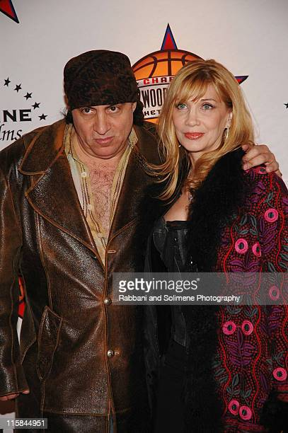 Steve Van Zandt and Maureen Van Zandt during 1st Annual 4Chosen Celebrity Basketball Game at Basketball City Basketball City in New York New York New...