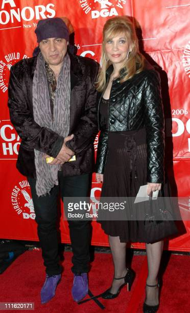 Steve van Zandt and Maureen Van Zandt during Directors Guild of America Honors David Chase Arrivals October 12 2006 at DGA Building in New York City...