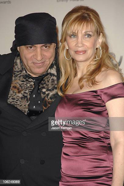 Steve Van Zandt and Maureen Van Zandt during The 34th International Emmy Awards Gala Press Room November 20 2006 at The New York Hilton in New York...