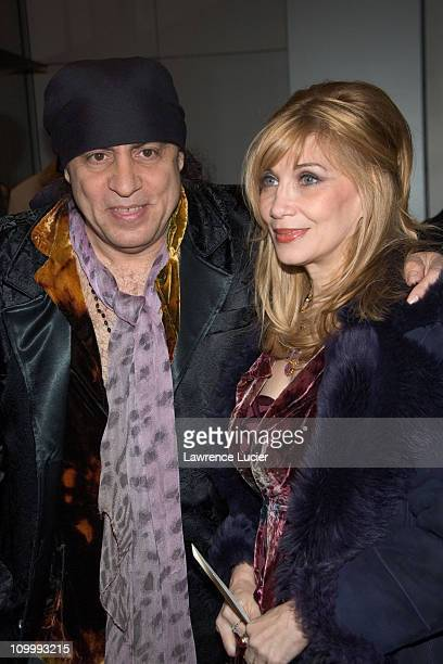 Steve Van Zandt and Maureen Van Zandt during The Sopranos Sixth Season New York City Premiere Outside Arrivals at Museum of Modern Art in New York...