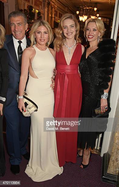 Steve Varsano Hofit Golan Natalia Vodianova and guest attend The Backstage Gala in aid of The Naked Heart Foundation at The London Coliseum on April...