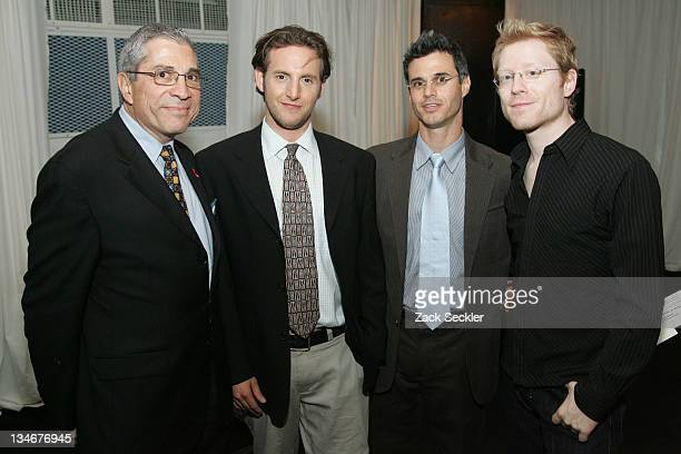 Steve Villano Jason Bellini Evan Shapiro and Anthony Rapp