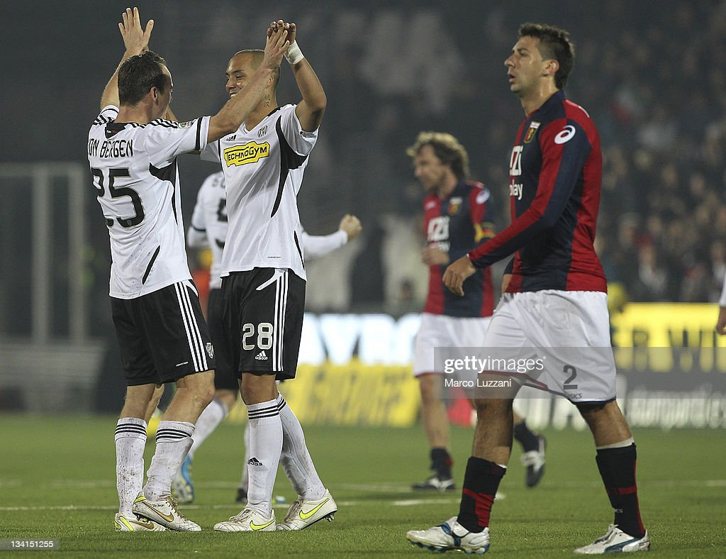 AC Cesena v Genoa CFC  - Serie A : News Photo