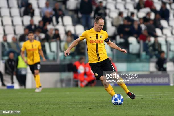Steve von Bergen of Berner Sport Club Young Boys in action during the Uefa Champions League Group H match between Juventus Fc and Berner Sport Club...
