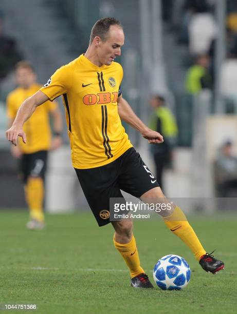 Steve von Bergen of BSC Young Boys in action during the Group H match of the UEFA Champions League between Juventus and BSC Young Boys at Allianz...