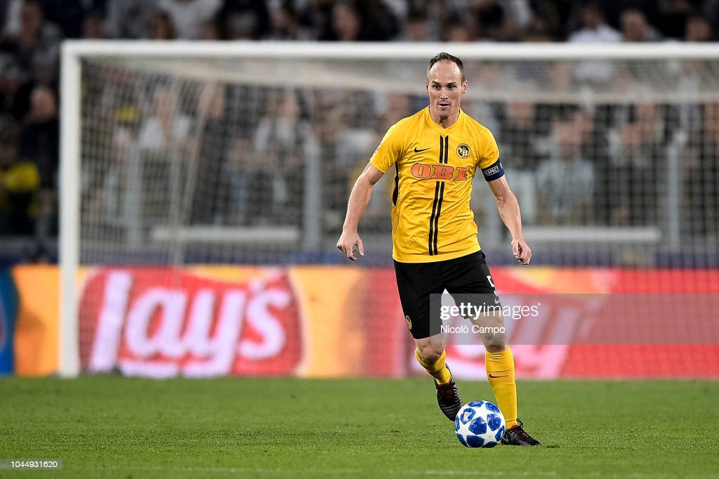 Steve von Bergen of BSC Young Boys in action during the UEFA... : News Photo