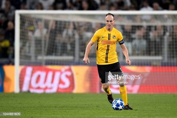Steve von Bergen of BSC Young Boys in action during the UEFA Champions League football match between Juventus FC and BSC Young Boys Juventus FC won...