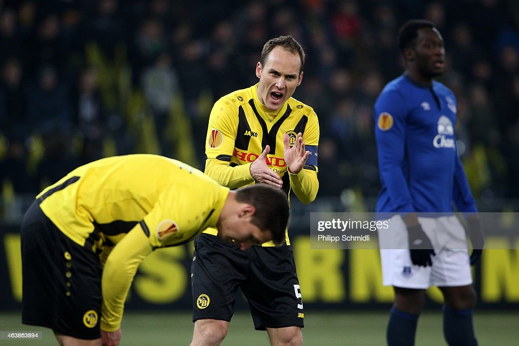 BSC Young Boys v Everton FC - UEFA Europa League Round of 32 : News Photo