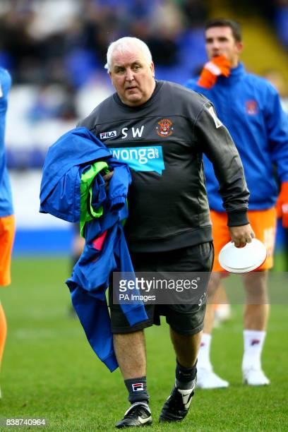 Steve Wales Blackpool kit man