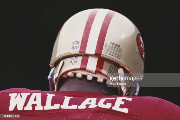Steve Wallace Guard for the San Francisco 49ers during the National Football Conference West game against the Atlanta Falcons on 10 September 1995 at...