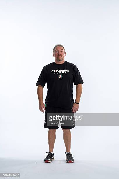 Steve Walsh of London Irish poses for a picture during the BT PhotoShoot at Sunbury Training Ground on August 27 2014 in Sunbury England