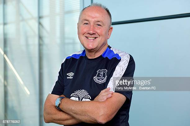 Steve Walsh the new Director of Football at Everton FC poses for a photo at Finch Farm on July 22, 2016 in Halewood, England.