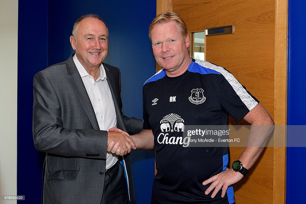 Everton Announce New Director of Football Steve Walsh : News Photo
