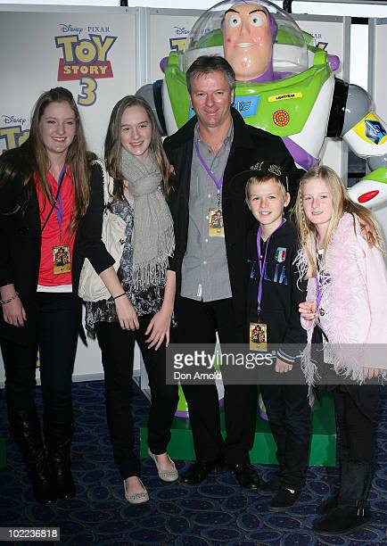 "Steve Waugh arrives for the premiere of ""Toy Story 3"" at IMAX Darling Harbour on June 20, 2010 in Sydney, Australia."