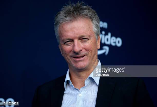 Steve Waugh attends the Amazon Original premiere of The Test: A New Era for Australia's Team at SCG on March 10, 2020 in Sydney, Australia.