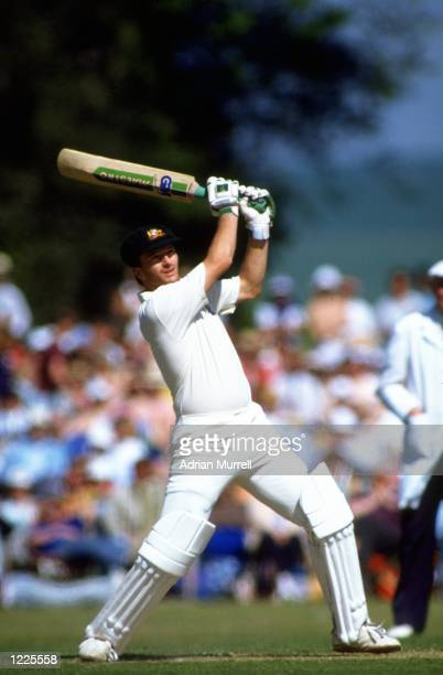 Steve Waugh of Australia in action during a match against Duchess XI at Arundel in England Mandatory Credit Adrian Murrell/Allsport