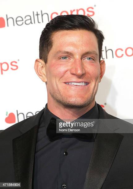 Steve Weatherford attends the 9th Annual HealthCorps' Gala at Cipriani Wall Street on April 29 2015 in New York City