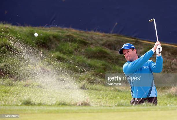 Steve Webster during The British Masters 2016 supported by SkySports second round at The Grove Golf Course on October 14 2016 in Watford England